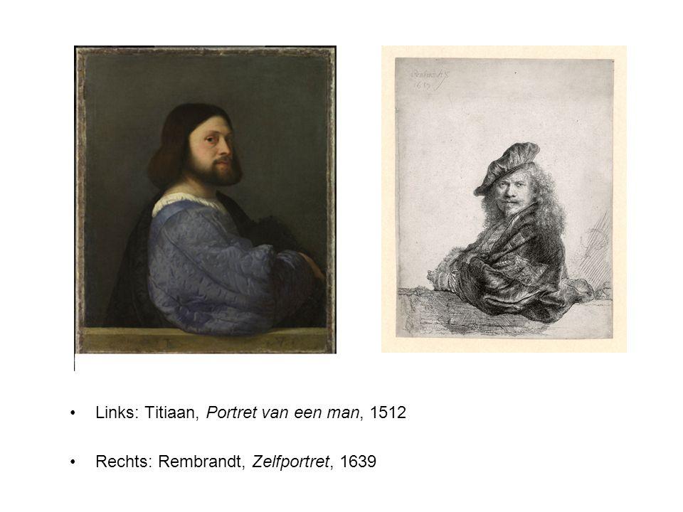 Links: Titiaan, Portret van een man, 1512