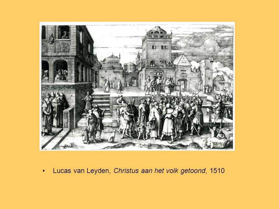 Lucas van Leyden, Christus aan het volk getoond, 1510