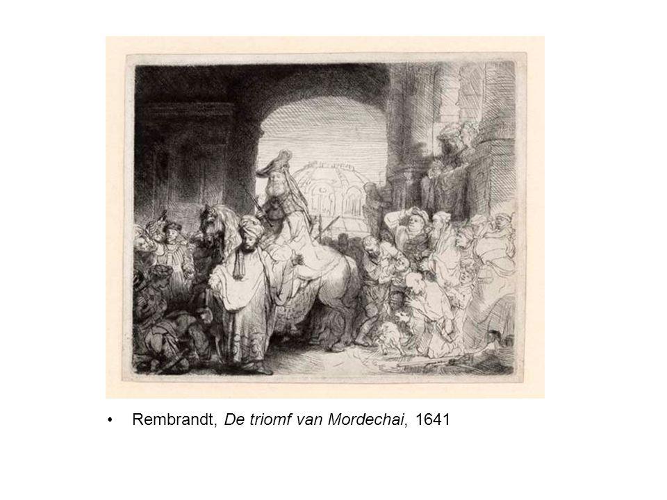 Rembrandt, De triomf van Mordechai, 1641