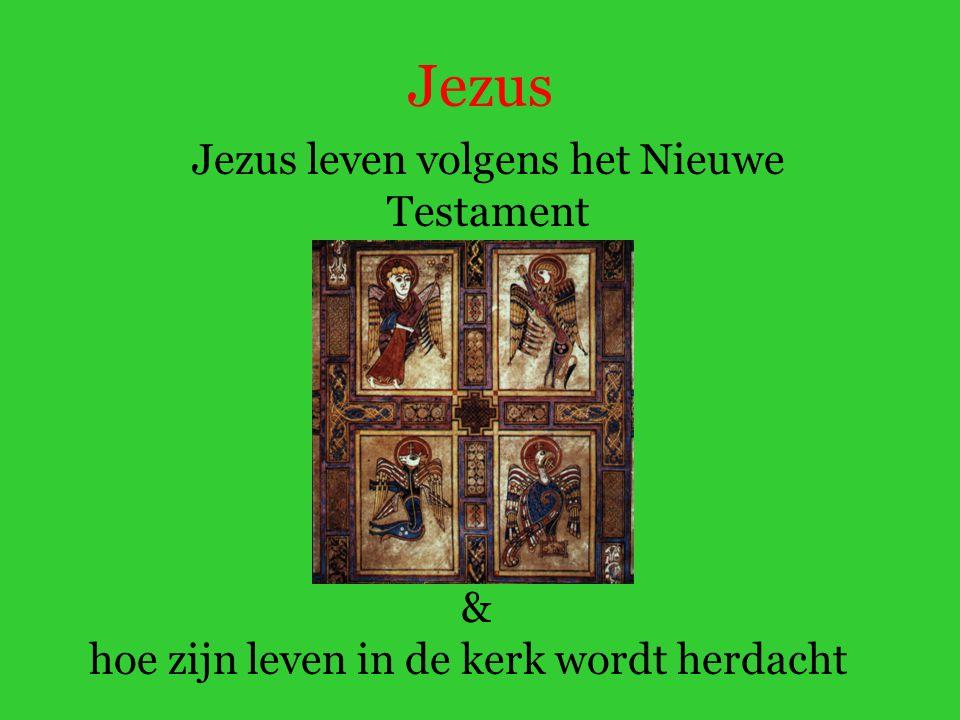 Jezus leven volgens het Nieuwe Testament