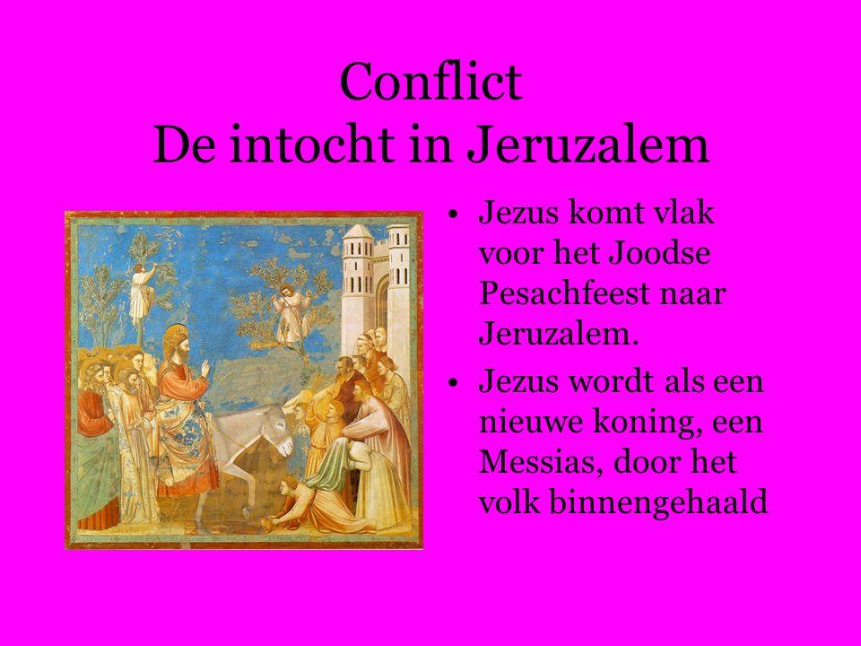 Conflict De intocht in Jeruzalem