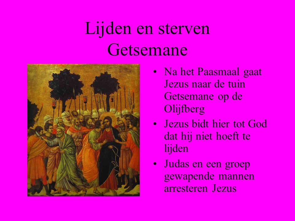 Lijden en sterven Getsemane