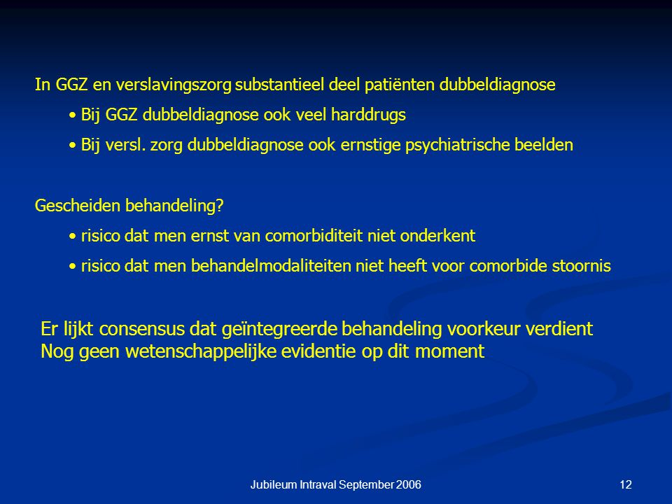 Jubileum Intraval September 2006