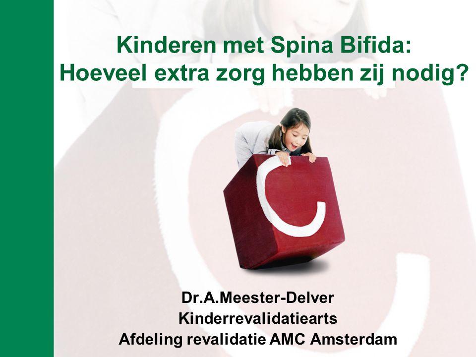 Kinderen met Spina Bifida: Hoeveel extra zorg hebben zij nodig