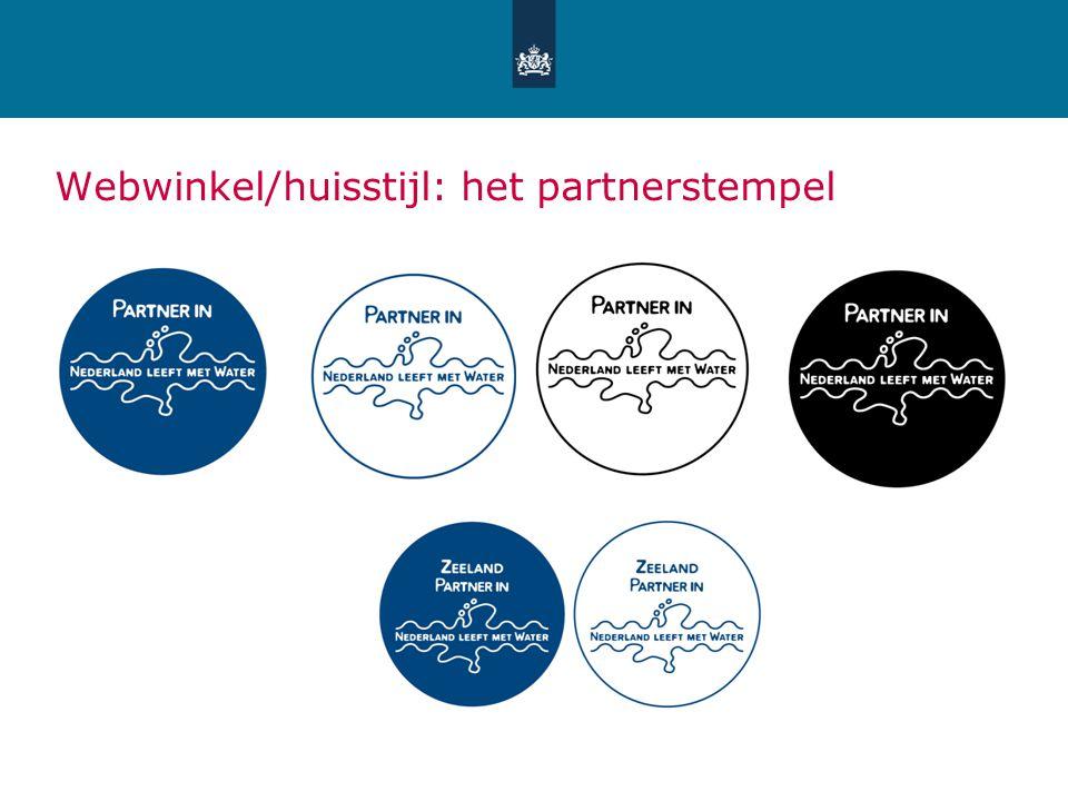 Webwinkel/huisstijl: het partnerstempel