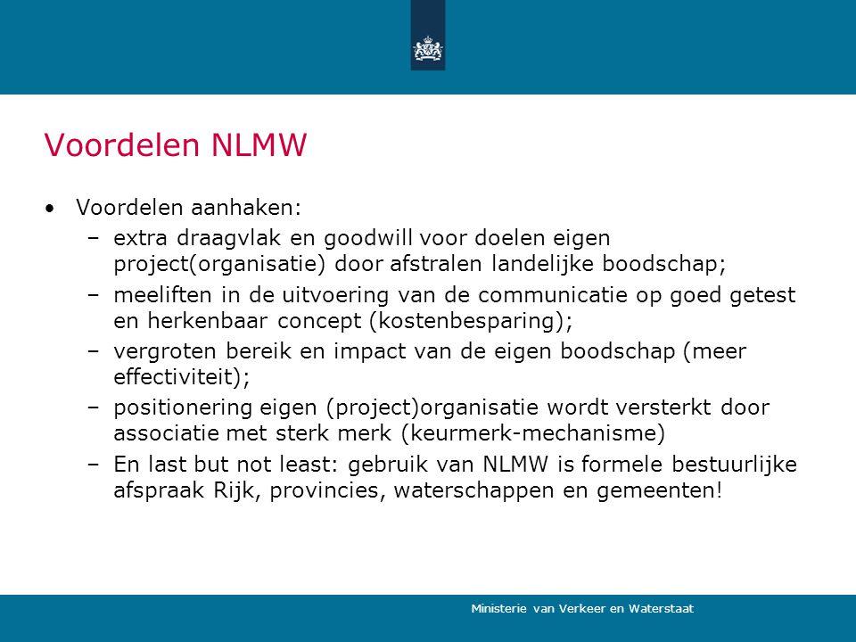 Voordelen NLMW Voordelen aanhaken: