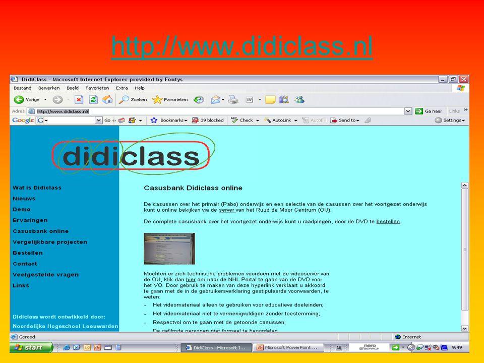 Didiclass - beginnen met