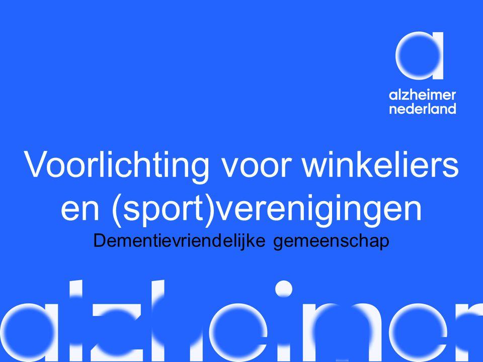 Voorlichting voor winkeliers en (sport)verenigingen