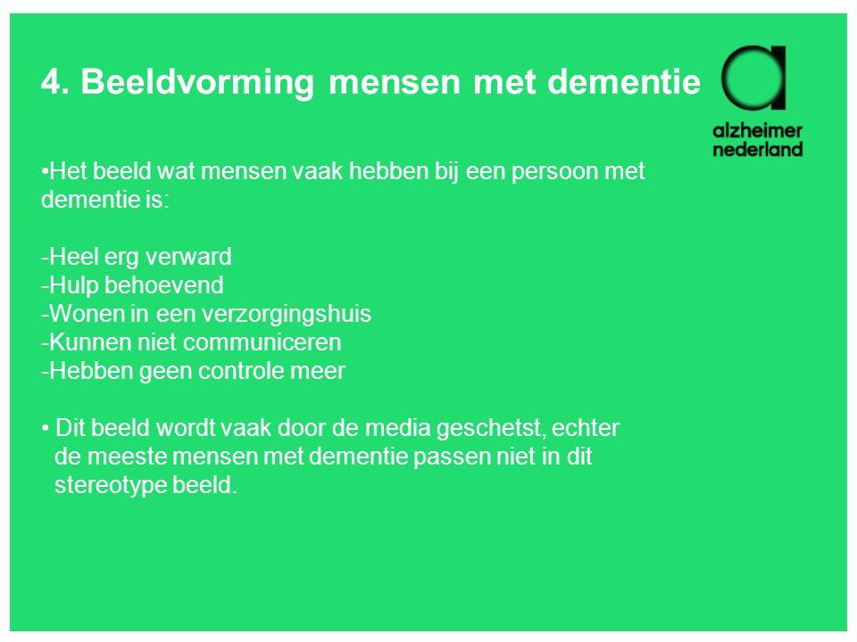 4. Beeldvorming mensen met dementie
