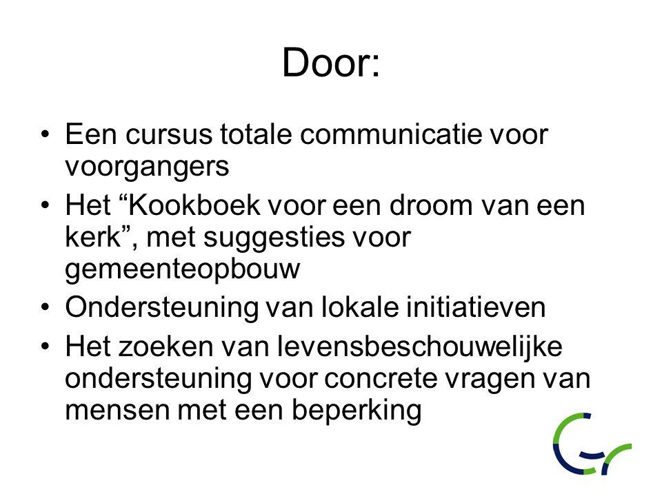 Door: Een cursus totale communicatie voor voorgangers