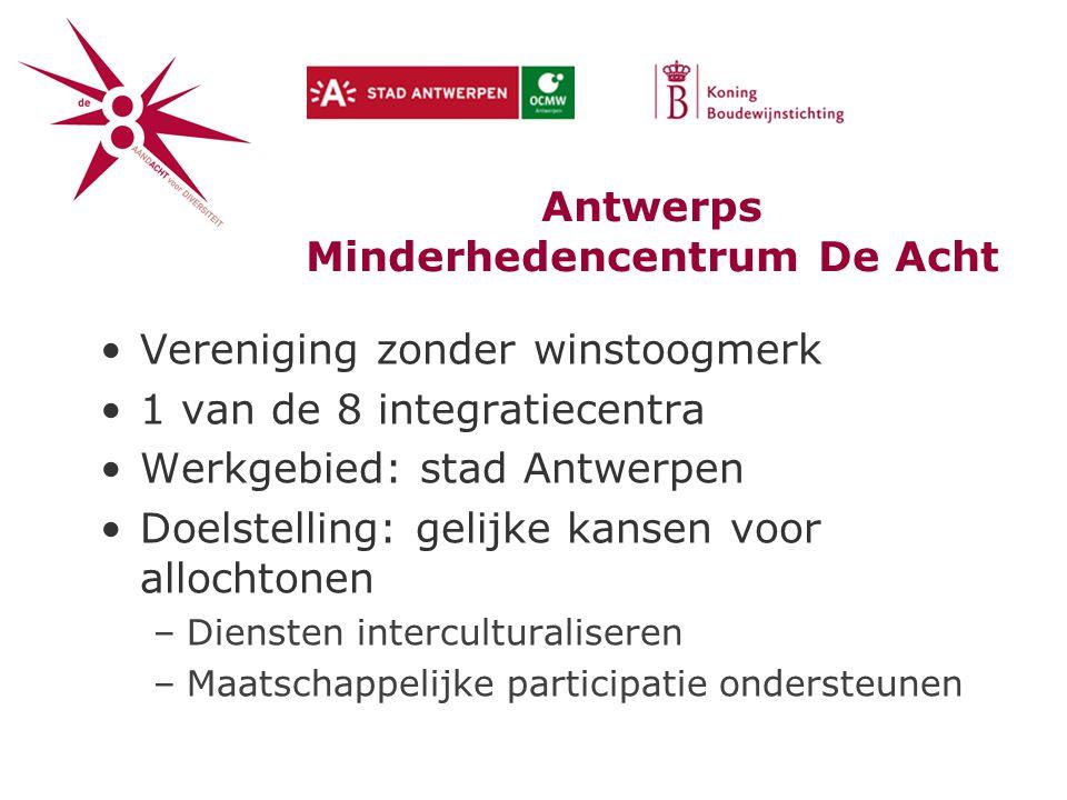 Antwerps Minderhedencentrum De Acht