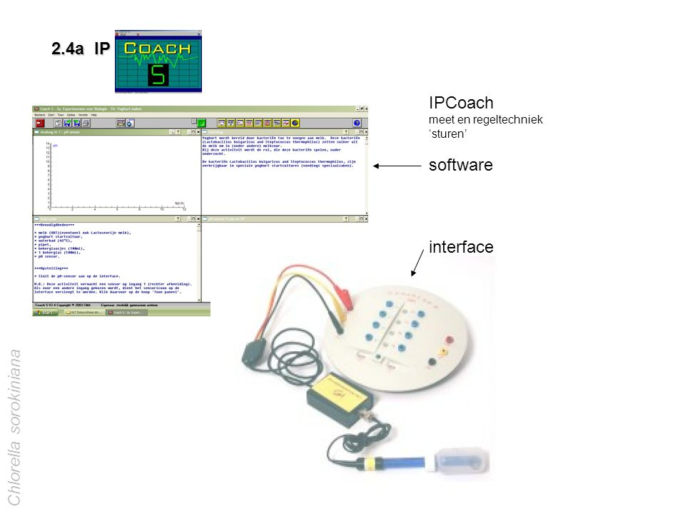 IPCoach meet en regeltechniek