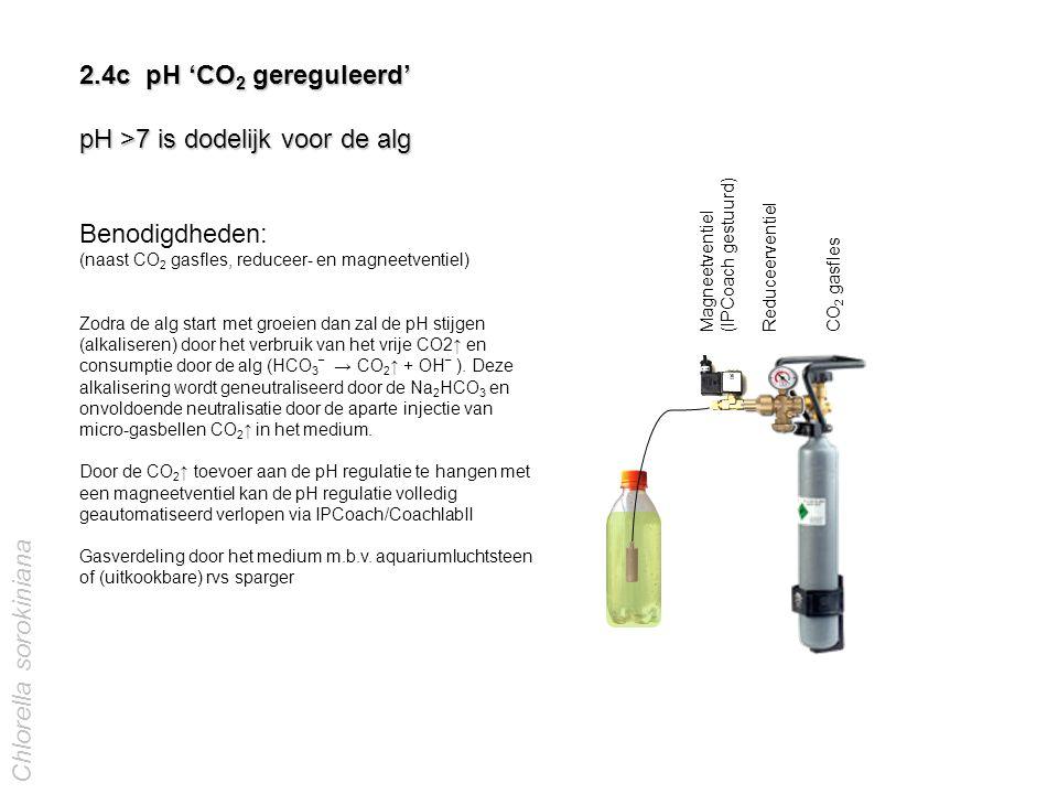 pH >7 is dodelijk voor de alg