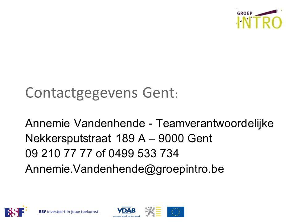 Contactgegevens Gent: