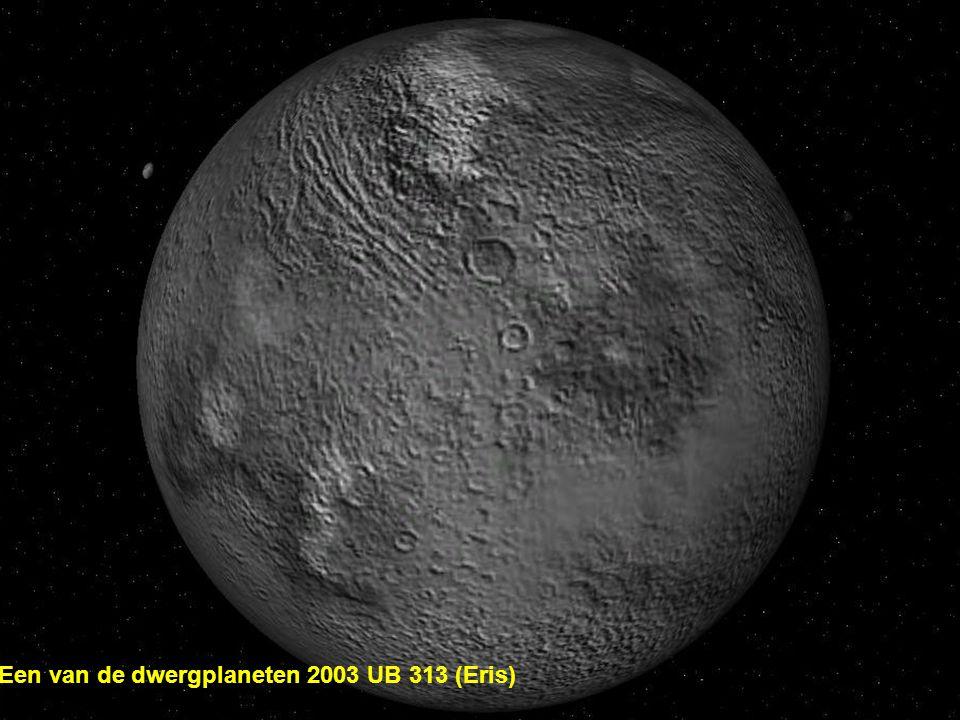 Een van de dwergplaneten 2003 UB 313 (Eris)