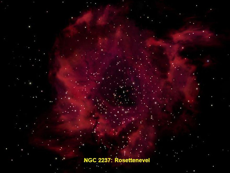 NGC 2237: Rosettenevel