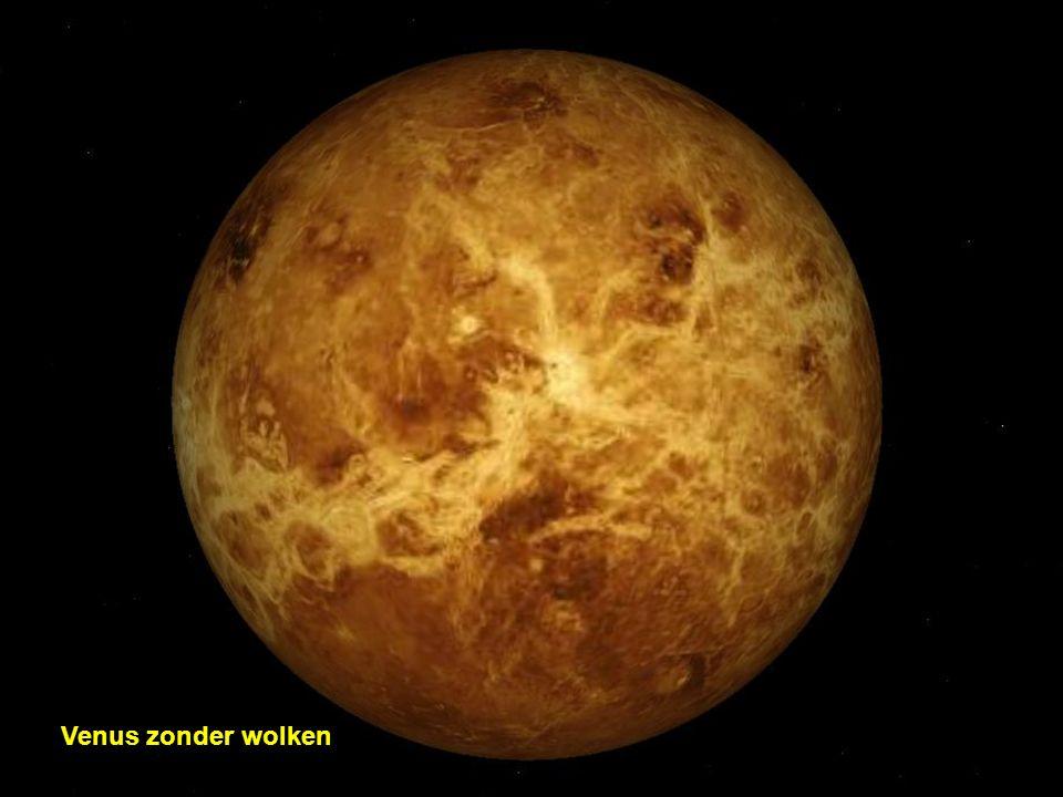 Venus zonder wolken