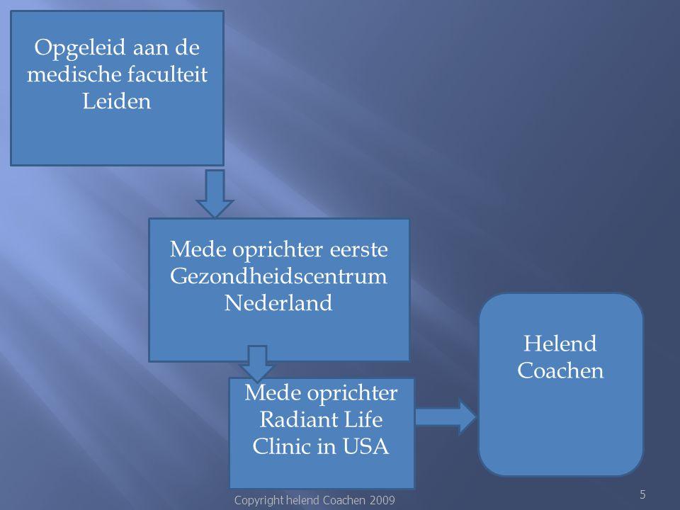 Opgeleid aan de medische faculteit Leiden