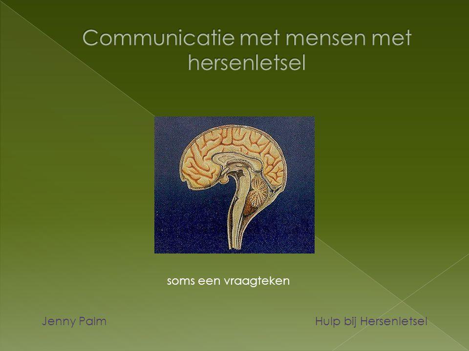 Communicatie met mensen met hersenletsel