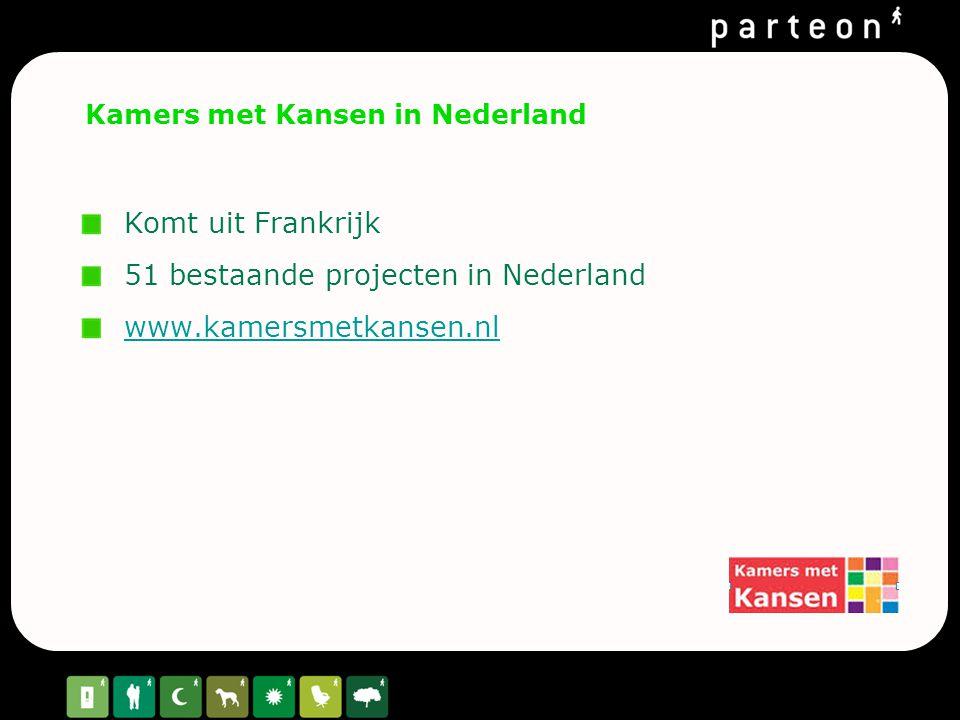 Kamers met Kansen in Nederland
