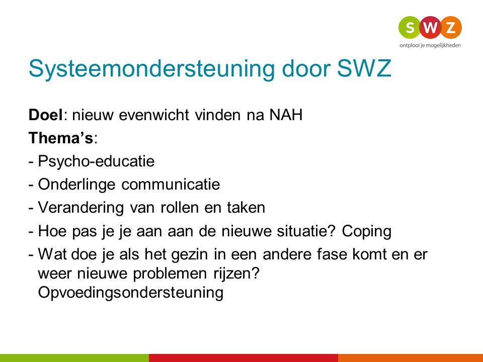 Systeemondersteuning door SWZ