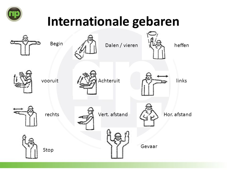 Internationale gebaren