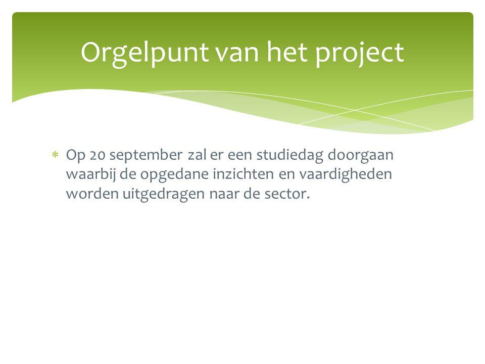 Orgelpunt van het project