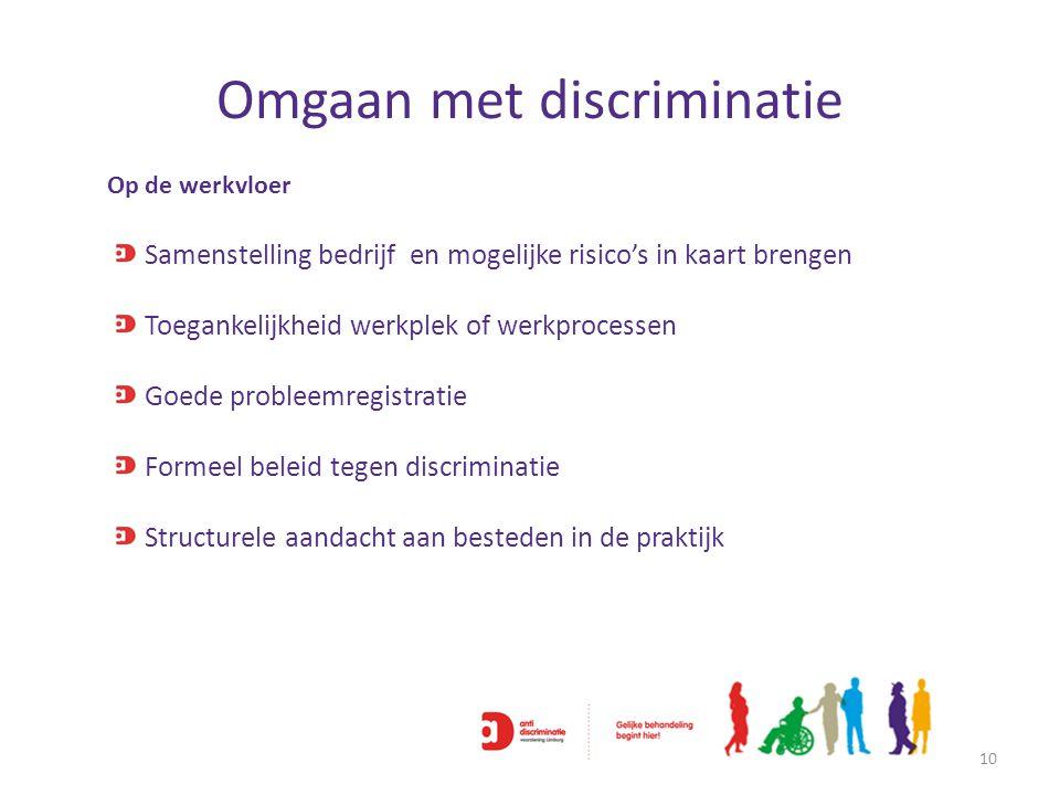 Omgaan met discriminatie