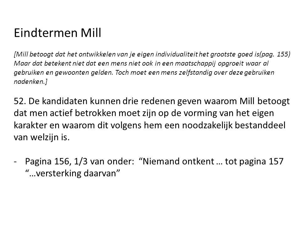 Eindtermen Mill