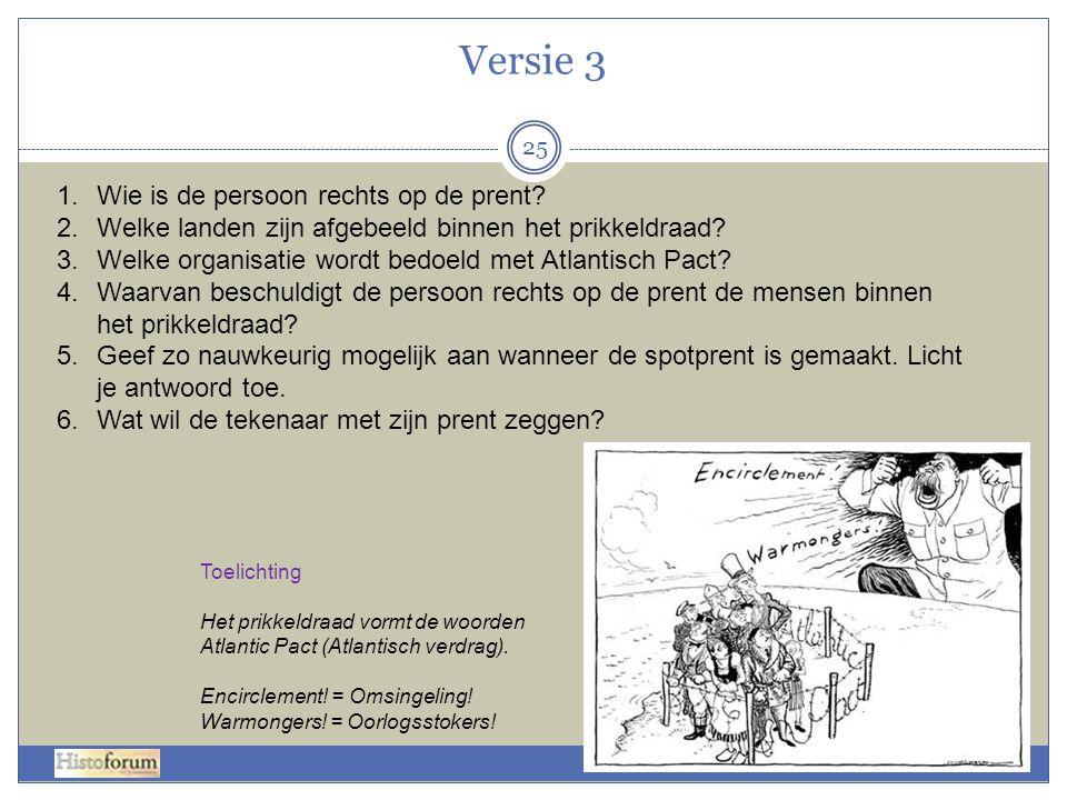 Versie 3 Wie is de persoon rechts op de prent