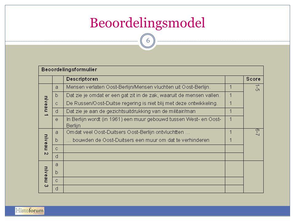 Beoordelingsmodel