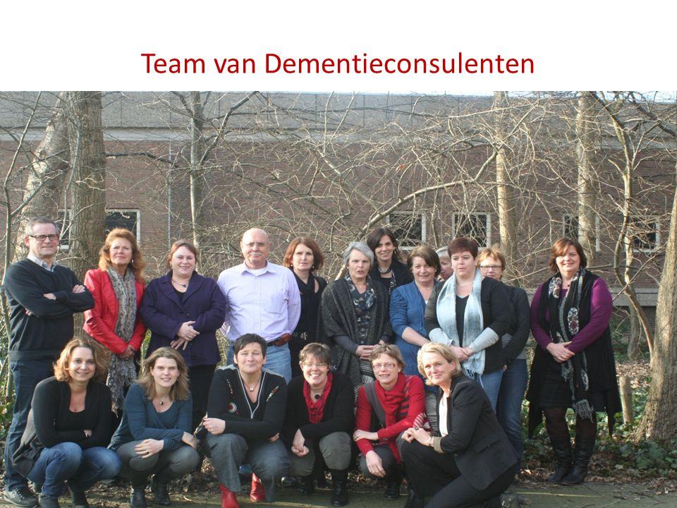 Team van Dementieconsulenten