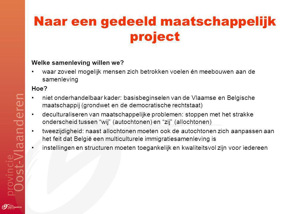 Naar een gedeeld maatschappelijk project