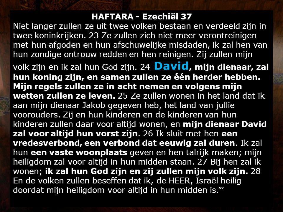 HAFTARA - Ezechiël 37