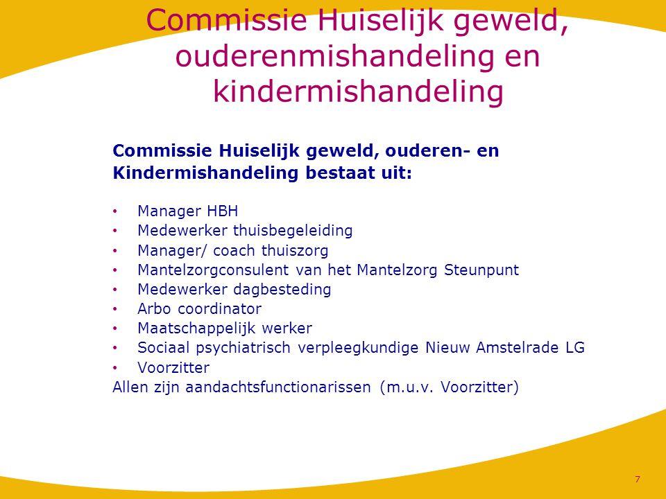 Commissie Huiselijk geweld, ouderenmishandeling en kindermishandeling