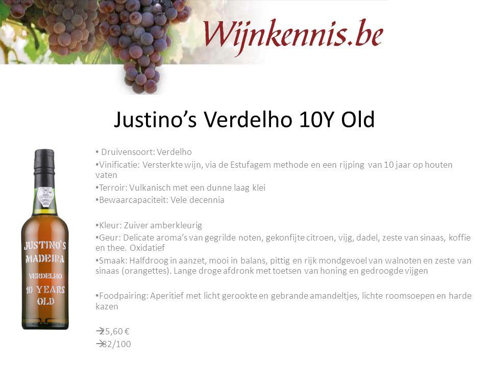 Justino's Verdelho 10Y Old