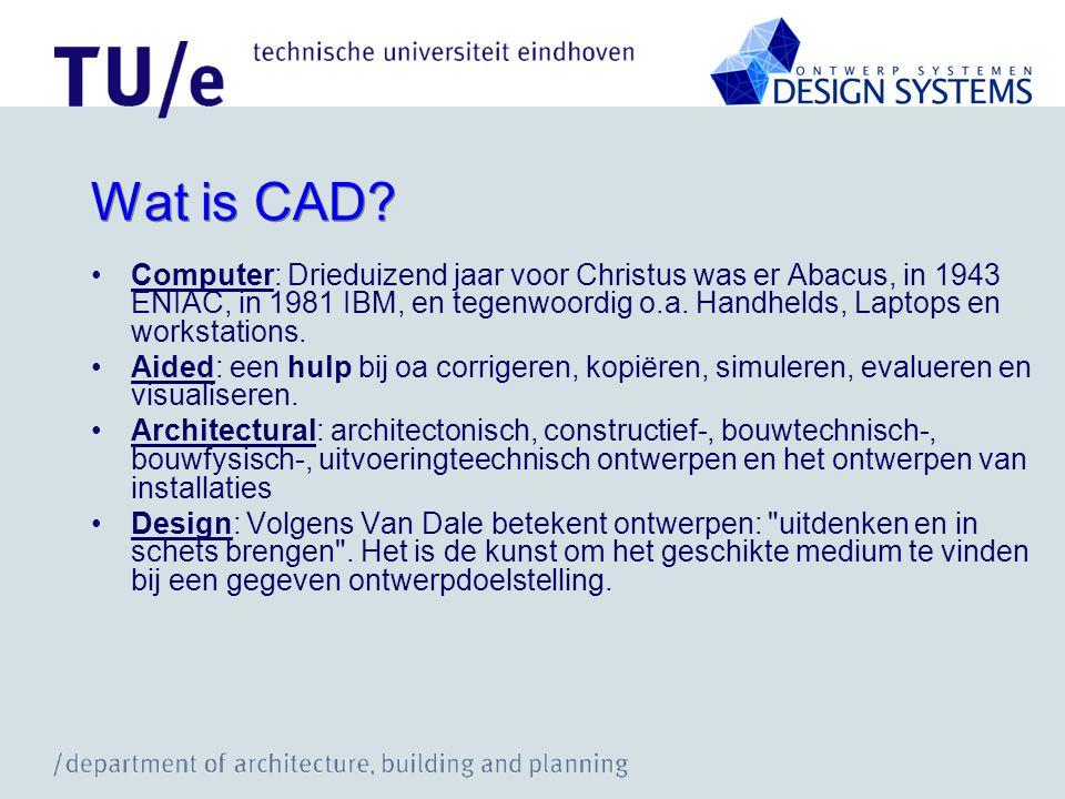 Wat is CAD