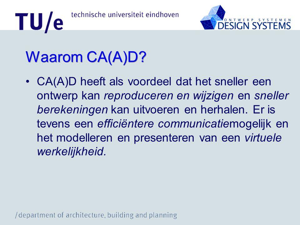 Waarom CA(A)D