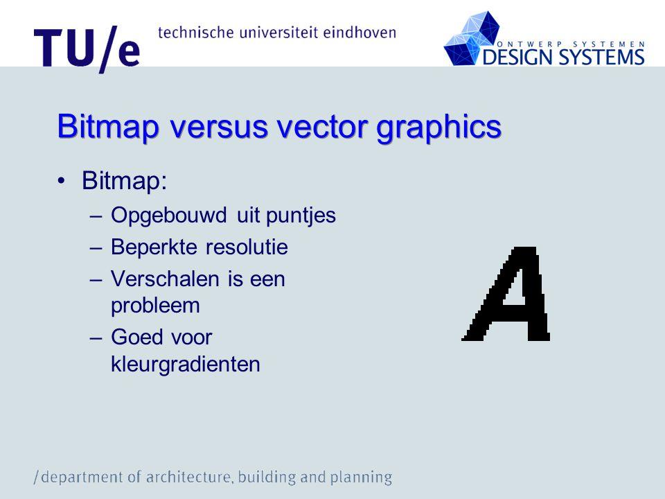 Bitmap versus vector graphics
