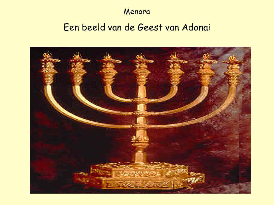 Een beeld van de Geest van Adonai
