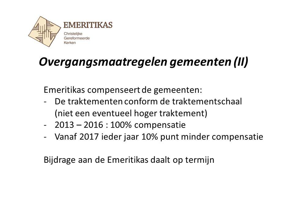 Overgangsmaatregelen gemeenten (II)