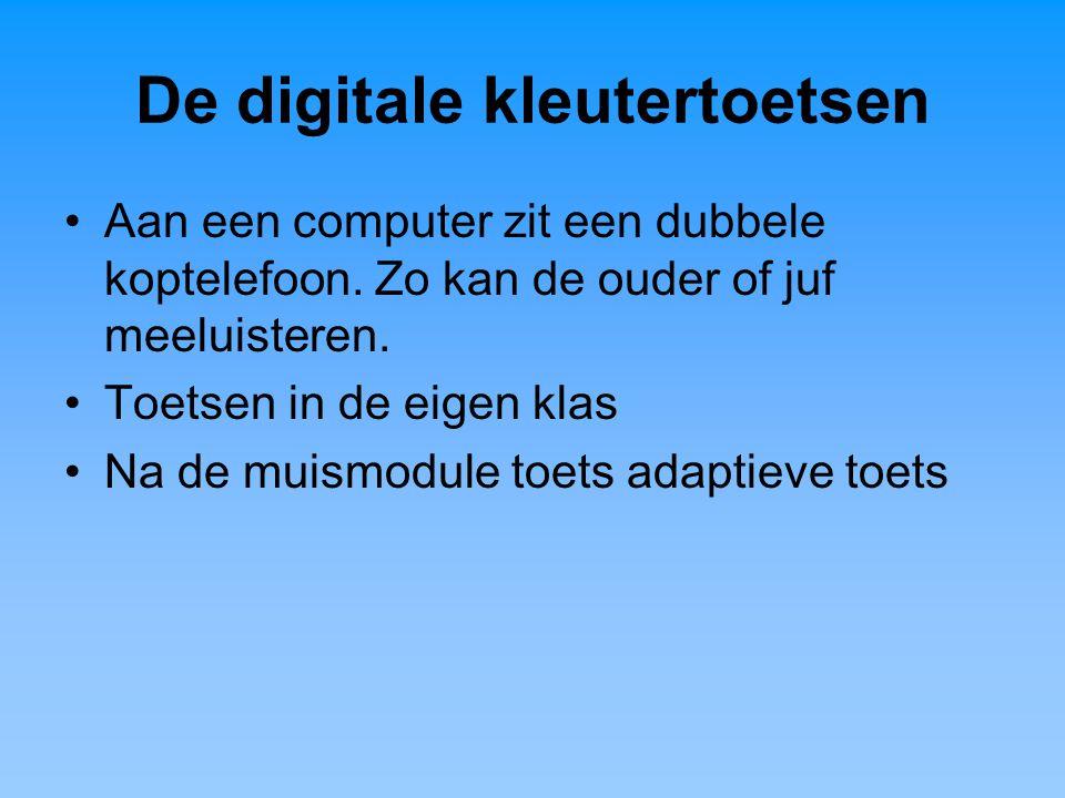 De digitale kleutertoetsen