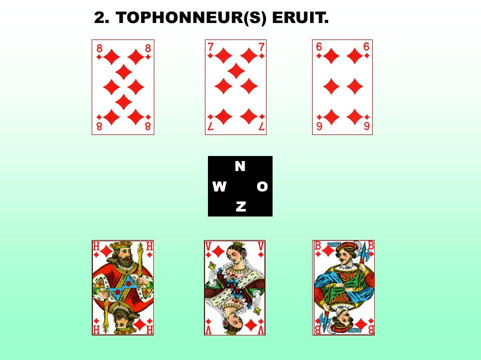 2. TOPHONNEUR(S) ERUIT. N W O Z