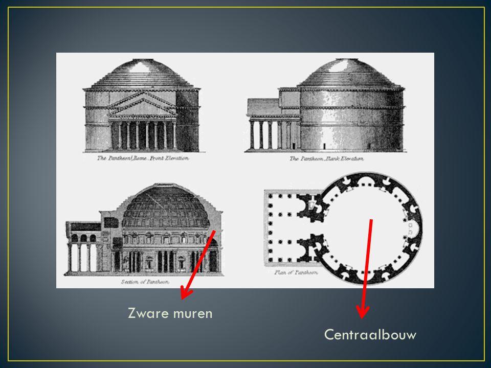 Zware muren Centraalbouw