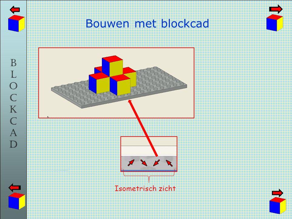 Bouwen met blockcad Isometrisch zicht