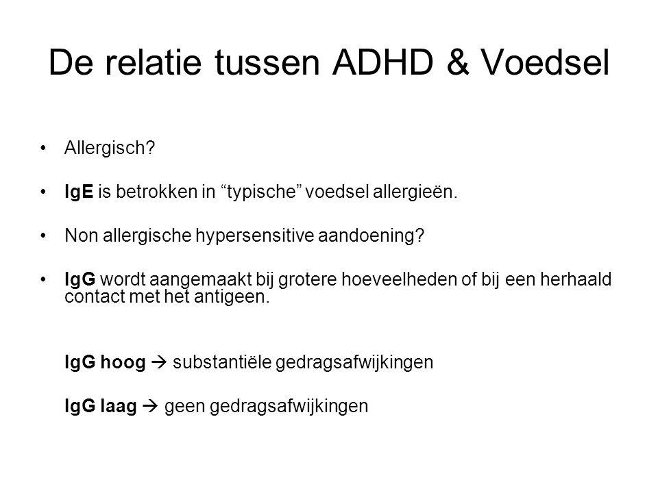 De relatie tussen ADHD & Voedsel