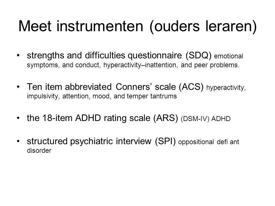 Meet instrumenten (ouders leraren)