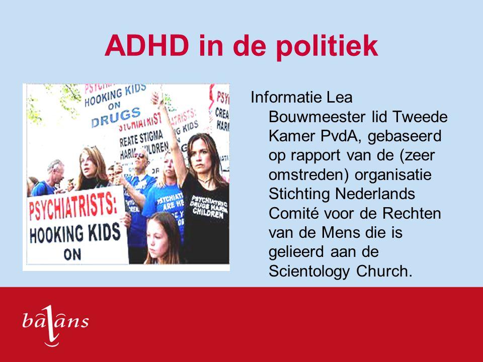 ADHD in de politiek