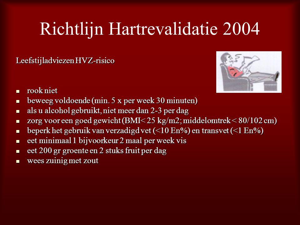 Richtlijn Hartrevalidatie 2004