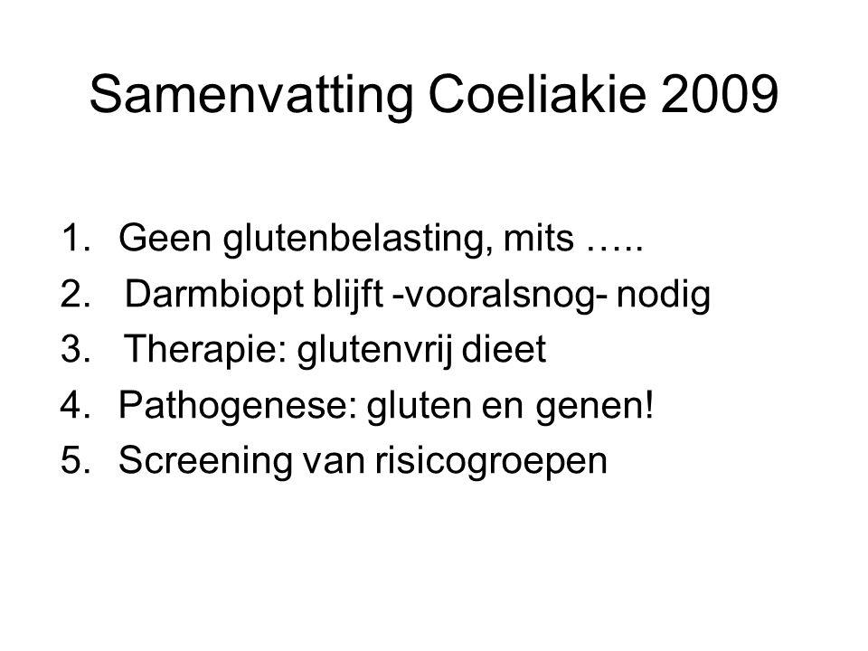 Samenvatting Coeliakie 2009